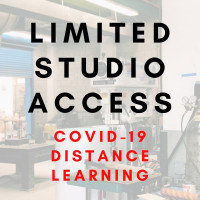 Limited Studio Access - COVID-19 Distance Learning