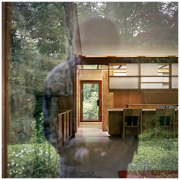 Thad Russel, Usonia: Lurie House, 2016, color photograph