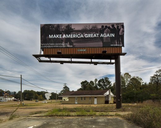 A For Freedoms billboard near Pearl, Mississippi