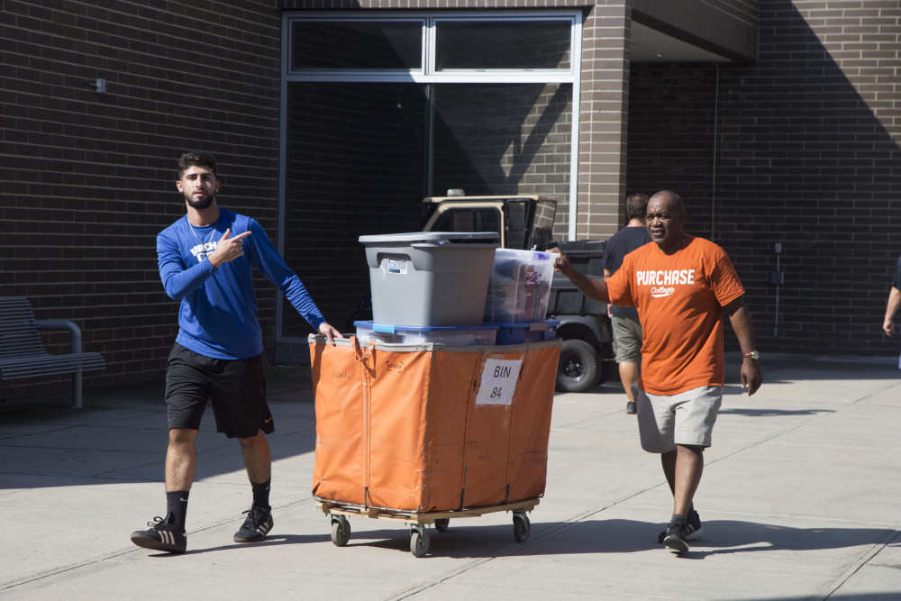 First Year Student Move-In Day