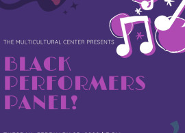 Flyer for Black Performers Panel
