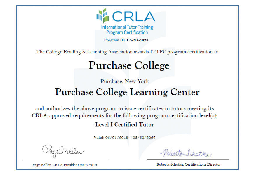 becoming a tutor  u2022 learning center  u2022 purchase college