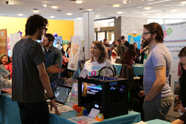Digital Arts Experience at the Job & Internship Fair
