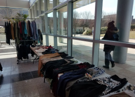 Professional Clothing for free at Job Fair Prep Day