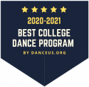 2020-2021 Best College Dance Program by Danceus.org