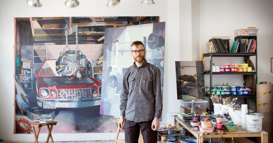 Matthew Bollinger Painting And Drawing Purchase College