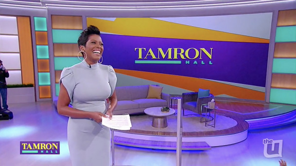 Tamron Hall Talk Show. Designed by: Jack Morton Worldwide.