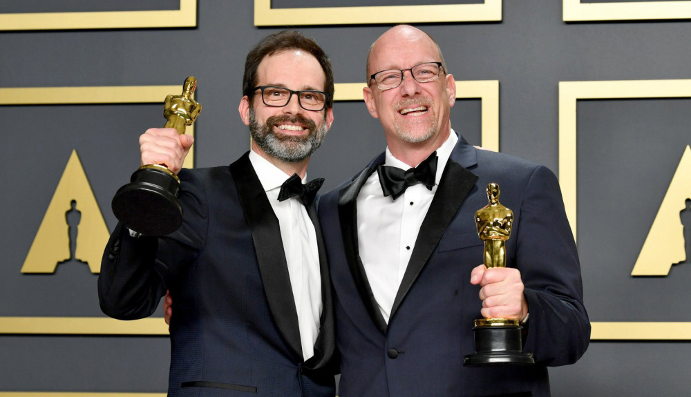 Andrew Buckland '94 (film) and longtime collaborator Michael McCusker earn the Oscar for film e...