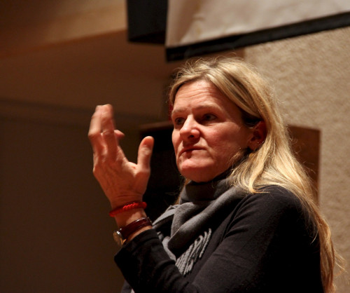 Cinematographer Ellen Kuras gave workshops and a lecture