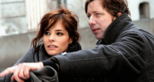 Alumni Parker Posey and Hal Hartley '84