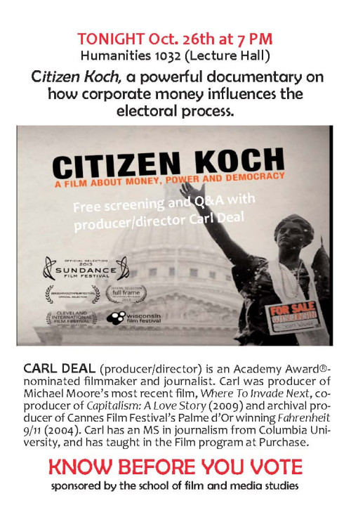 Citizen Koch flier
