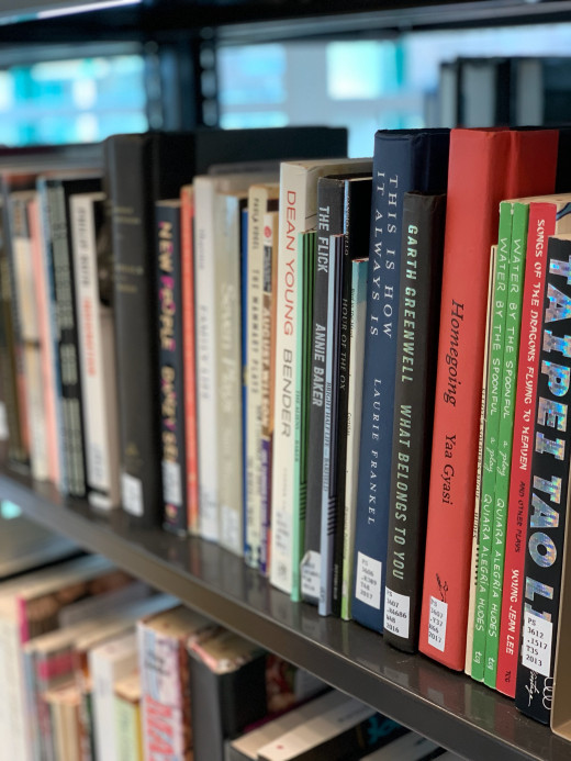 Books on physical reserve at the Library