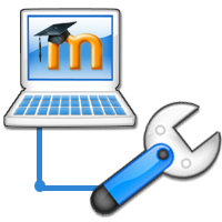 Moodle maintenance logo