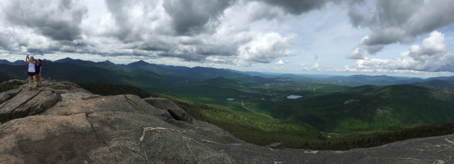View from the top of Cascade Mountain, one of the Adirondack High Peaks