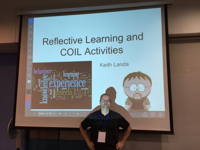 Reflective Learning workshop for the COIL Mexico program, Cuernavaca, September 2015