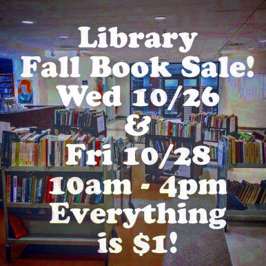 Library Fall Book Sale, 2016