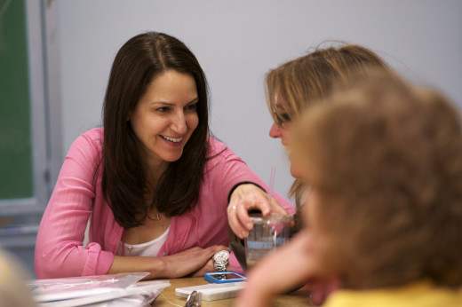 Adult Learners in classroom