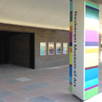 Neuberger Museum of Art entrance