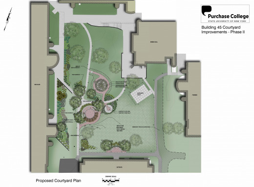 Architect's rendering of Quad renovations
